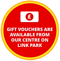 GIFT VOUCHERS ARE AVAILABLE FROM OUR CENTRE ON THE GRANBY