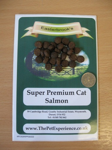 Salmon Cat Food