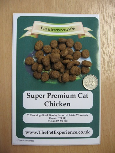Easterbrook's Adult Cat Chicken Food