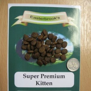 Easterbrook's Kitten Chicken Cat Food 2kg
