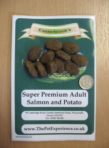 Adult Salmon And Potato Dog Food