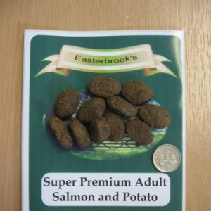 Easterbrooks Adult Salmon & Potato 15kg Breeder Pack/Working Dog Food