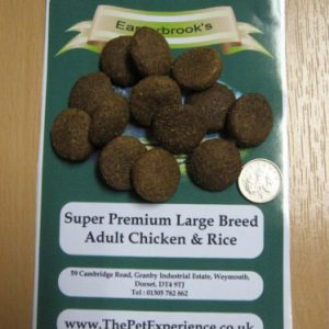 Easterbrook's Adult Large Breed Chicken & Rice 15kg Breeder Pack/Working Dog Food