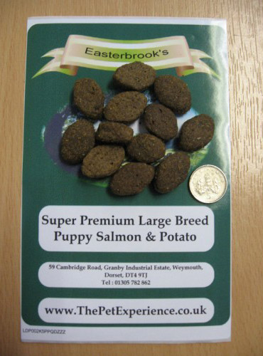 Large Breed Puppy Salmon And Potato Dog Food