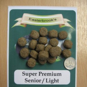 Easterbrooks Senior/Light Fish & Rice Dog Food