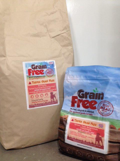 Grain Free Salmon Dog Food