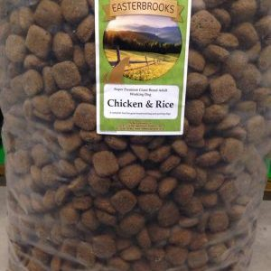 Easterbrooks Giant Breed Adult Chicken & Rice Breeder Pack/Working Dog 15kg