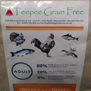 Teepee 80/20 Poultry & Fish, Grain Free 10kg